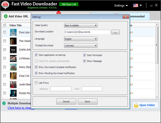 fast video downloader search video gt copy link